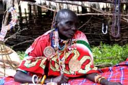 Old woman Kenya