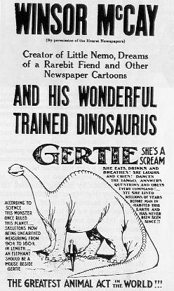 Gertie the Dino
