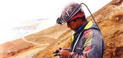 Mine worker at Cerro Rico