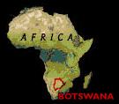 Botswana Map SA