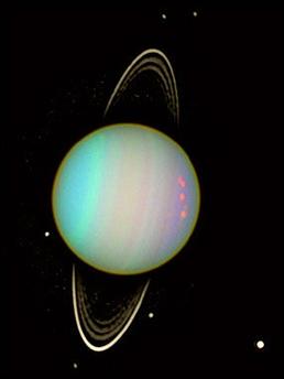 Rings on Uranus